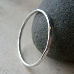 Pretty hammered ring.