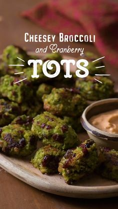 Take your tots to the next level with Craisins® Dried Cranberries. This unique and healthier take on the tot is the tasty dinner side you, and your family, have been waiting for (and the secret to getting your kids to eat broccoli! Broccoli Recipes, Vegetable Recipes, Vegetarian Recipes, Healthy Recipes, Pescatarian Recipes, Cabbage Recipes, Salmon Recipes, Baby Food Recipes, Cooking Recipes