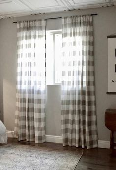 7 Youthful Tips: Rustic Curtains Living Room elegant curtains white.Lace Curtains With Drapes. Buffalo Plaid Curtains, Gingham Curtains, Buffalo Check Curtains, Drop Cloth Curtains, Burlap Curtains, Floral Curtains, White Curtains, Hanging Curtains, Panel Curtains
