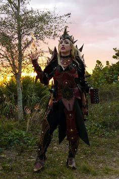 Ladies Battle Mage Gothic Leather Armor Set on Etsy, $1,964.12 CAD