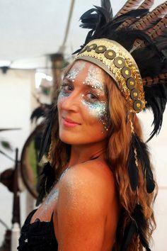 Secret Garden Party, treasure tribe, festival style, glitter