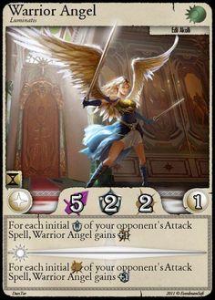 Moonga - Warrior Angel by moonga