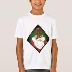 basketball Christmas T-Shirt - Xmas ChristmasEve Christmas Eve Christmas merry xmas family kids gifts holidays Santa