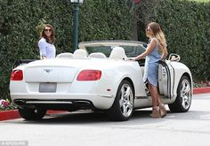 Sam Faiers and Luisa Zissman dress up for a shopping trip in LA #dailymail