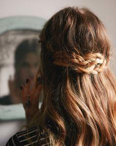 Love it. El peinado del verano #Malibu #trenzas