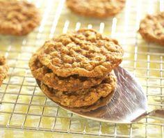 Cookies de Avena, Naranja y Jengibre