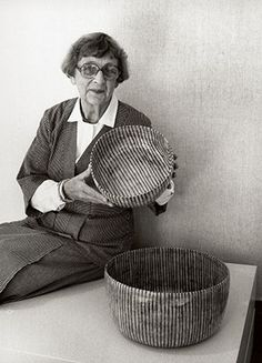 Gertrud Vasegaard (1913-2007) was a third-generation Danish potter. Her life was devoted to ceramics until her death at 94. Vasegaard was little known outside of Denmark, but for one exhibition of her work in the UK in 2011. Repetition, lines and dynamic simplicity are classic attributes of her work