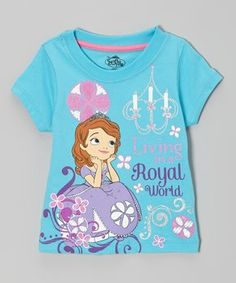Sofia the First Blue  Royal World  Tee - Toddler   Girls c19e0ca31