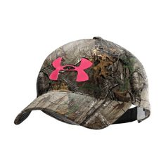 Women's UA Camo Logo Adjustable Hat Headwear « Impulse Clothes