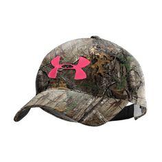 Women's UA Camo Logo Adjustable Hat Headwear « Impulse Clothes