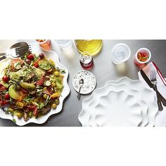 Mallorca Oval Platters | Crate and Barrel