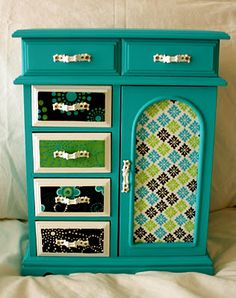 Jewelry Box Makeover