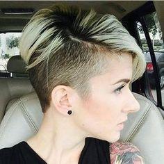 Wunderschöne Undercut Frisuren für coole Frauen. Hast Du den Mut 2016?