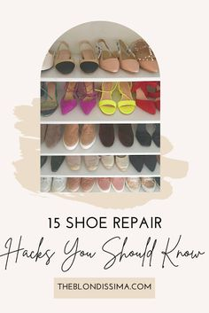 15 Shoe Repair Hacks You Should Know - The Blondissima Foot Spray, Walking In Heels, Shoe Stretcher, Pedicure At Home, Shoe Horn, Christian Louboutin Heels, Blog Love, Red Bottoms, Shoe Closet