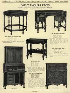 Places To Borrow Tables And Chairs Desk Chair No Wheels Arms 66 Best Furniture Furnishings A Catalog History Images North Western Cabinet Company Free Download Streaming