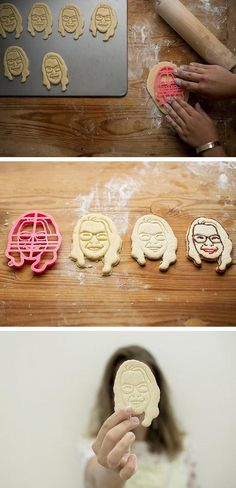 Custom portrait cookie cutters make for a seriously sweet (and sorta surreal) gift. Check out even more unique personalized gift ideas in our shopping guide on the Etsy Blog. #etsygifts
