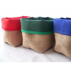 Contenedor, Organizador, Panera, Cesta De Arpillera Farm Party Decorations, Fabric Boxes, Jute Bags, Pouch Bag, Burlap, Sewing Patterns, Reusable Tote Bags, Textiles, Throw Pillows