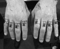 James Hetfield's tattoo