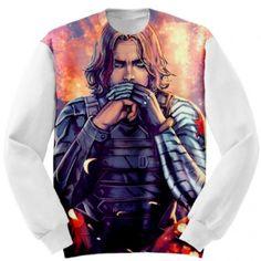 Bucky Barnes Winter Soldier Custom Sweatshirt