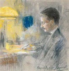 Portrait of a man -  Thalia Flora-Karavia