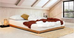 Low Loft Bed (Space Saving)