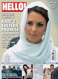 The Royal tour made headlines all over the world and as a result William and Kate graced the covers of dozens of popular magazines.