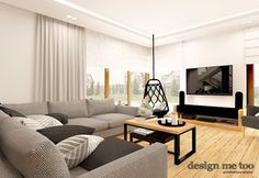 Salon styl Nowoczesny - zdjęcie od design me too Sofa, Couch, Home Projects, Living Room, Interior, Furniture, Design, Home Decor, Projects