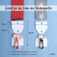 Sew pocket belt to change - crearesa.de Sew pocket belt to change – crearesa. Sewing Hacks, Sewing Tutorials, Sewing Tips, Sewing Crafts, Knitting Patterns, Sewing Patterns, Crochet Patterns, Sewing Pockets, Diy Sac