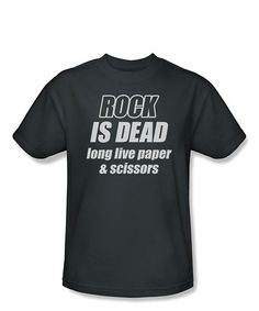 Another great find on #zulily! Charcoal 'Rock is Dead' Tee - Toddler & Boys #zulilyfinds
