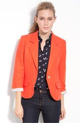 Gibson Linen One-Button Blazer (but really I like the outfit as a whole)