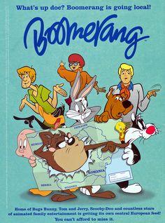 Boomerang From Cartoon Network | ... na Slovensku bez domova. Ich kanál Boomerang nebude dabovaný