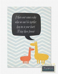 Keep Me in Your Heart 5x7 Printable Print  by LifeMadeLovely, $3.50