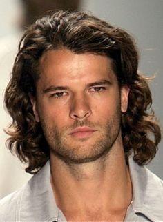 Mens Long Hair Curly Hairstyles ~ Mens Long Hairstyles Inspiration #menshairstyles #hairstyles