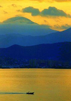 Puerto La Cruz, Venezuela By Guillermo Villasana All Nature, Amazing Nature, Amazing Art, Awesome, Mellow Yellow, Blue Yellow, Bright Yellow, Blue Gold, Beautiful World