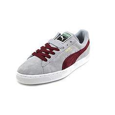 PUMA Suede Classic Sneaker,Quarry/Zinfandel,13 M US - http:/