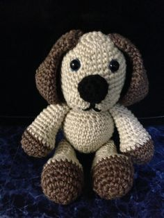 This cute lil puppy is super easy, great for advanced beginners…