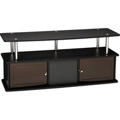 Convenience Concepts 151202 TV Stand W/3 Cabinets