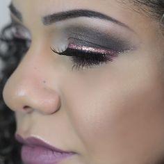 Maquiagem feita na Fernanda Santos para festa: Carnaval.