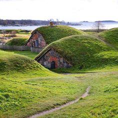 Fortress of Suomenlinna, Helsinki, Finland. Photo courtesy of jeapsri on Instagram.