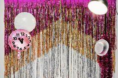 DIY-Anleitung: Lametta-Vorhang als Fotohintergrund selber machen via DaWanda.com