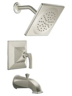 moen showhouse bathroom tub and shower faucets s354bn brushed nickel new
