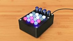 Make a 3D printed MIDI controller with button pad using Arduino learn.adafruit.co...