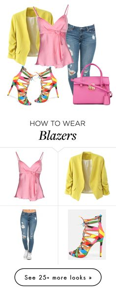 """""""Untitled #274"""" by sylvia-tall on Polyvore featuring Salvatore Ferragamo and Blugirl Folies"""