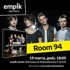 Zapraszamy na spotkanie z zespołem Room 94!