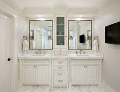 Beautiful Double Bathroom Vanities Design