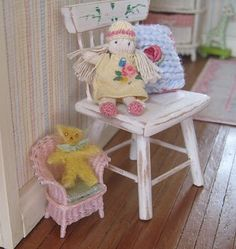 miniature hand made baby doll