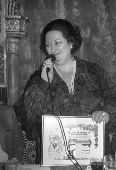 Montserrat Caballé (09/02/1987)