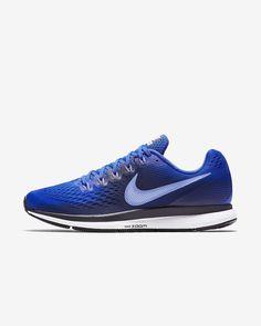 Nike Air Zoom Pegasus 34 Men's Running Shoe White Nike Shoes, Nike Air Zoom Pegasus, High Top Jordans, Blue Nike, Sports Shoes, Boys Shoes, Nike Men, Nike Shoes Outlet, Running Shoes For Men