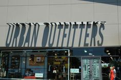 Urban Outfitters signage