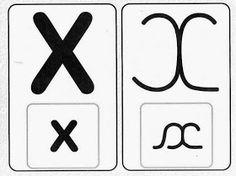 Pedagógiccos: Alfabeto - letra cursiva e caixa alta Symbols, Letters, Education, Character, Ali, Abc Centers, Writing Assignments, Upper And Lowercase Letters, Sight Word Activities